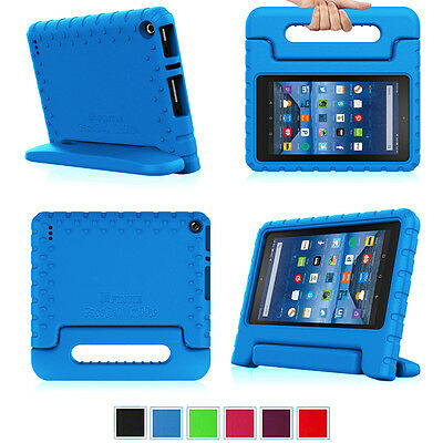 For Amazon Kindle Fire 7 HD 8 HD 10 Kids Friendly Shock Proof Handle Case Cover