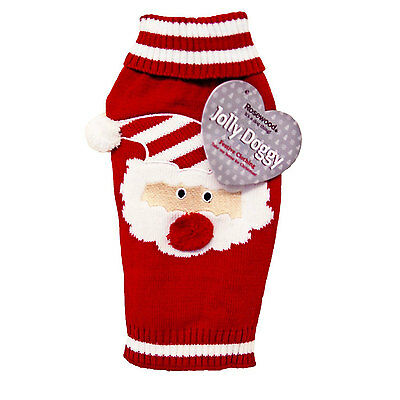 Rosewood Christmas Santa Claus Sweater Medium 38cm RW38890