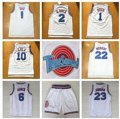 LOONEY Toones Basketball Jersey Space Jam Jersey Tune Squad NEW Beste und Trikot
