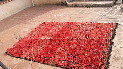 Grand tapis Zayane rouge