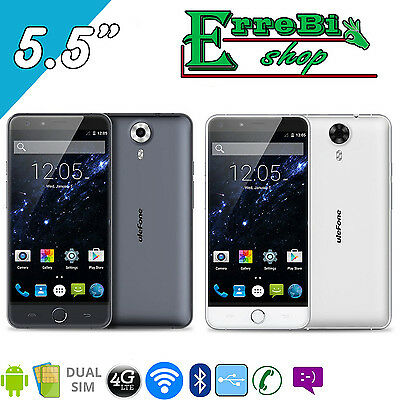 Smartphone Ulefone Be Touch 3 Touch Screen 5.5 Dualsim 4G Android Rom 16G Ram 3G