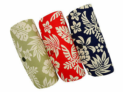 Ladies / Womens Hard Metal Flower Patterned Spex Glasses / Spectacle Case Autumn