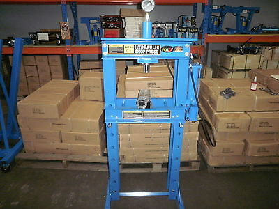 Shop Press 20T Air /hyd With Ram & Gauge & New Wider Body