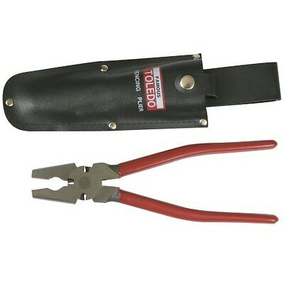 Toledo Combination Fencing Pliers 260mm With Belt Holster, FP10H