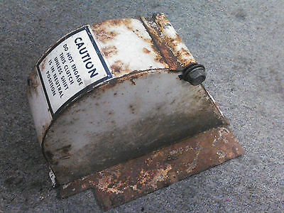 Ariens Vintage Steel Belt Cover with Bolt  from 624, 10M