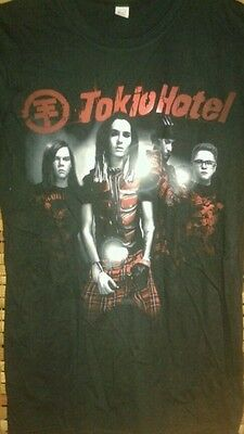 TOKIO HOTEL Scream tour concert womens small shirt German rock band cd lp dvd