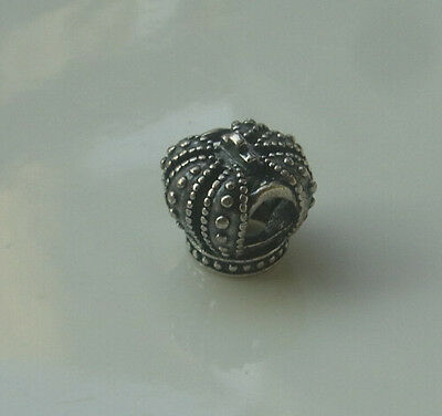 Authentic Pandora Sterling Silver Charms Royal Crown 790930