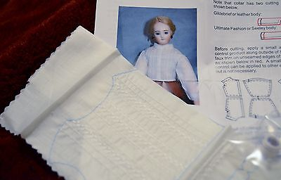 "Pattikin's Fancy Chemisette Kit  for  16"" French Fashion Dolls."