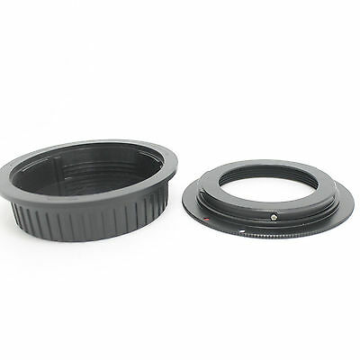 M42 Lens to Canon EOS EF Mount Adapter Ring 7D 50D 60D 550D Rebel XSi T1i+CAP Y