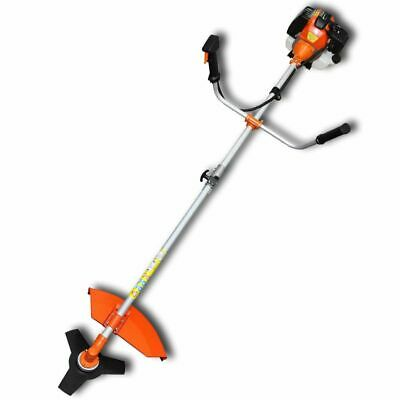 New Brush Cutter Grass Trimmer 52 cc Orange 2,2 kW Lawn Mower Grass Edger Weeder