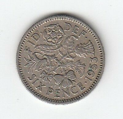 Queen Elizabeth II Sixpence 1953 to 1967 - CHOOSE YOUR DATE!