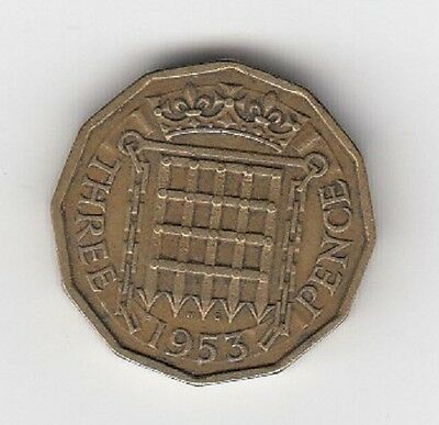 Queen Elizabeth II Threepence 1953 to 1967 - CHOOSE YOUR DATE!