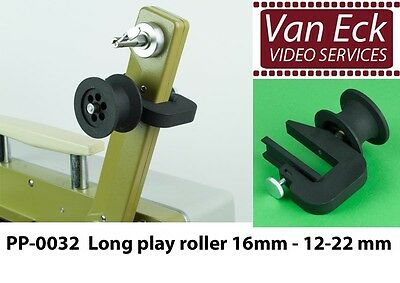 Long play roller 16mm - 12-22 mm - PP-0032 (new) EIKI / Bauer / Hokushin