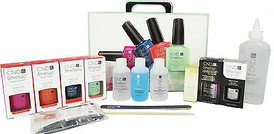 Cnd Shellac Trendy Collection Starter Pack Kit Set