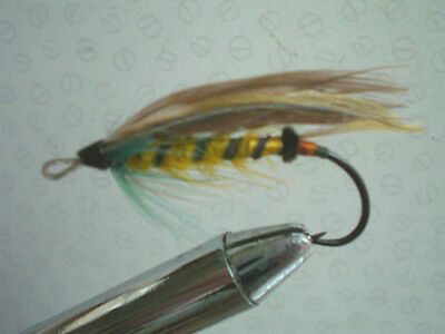 A Vintage Size 0 Gut Eyed Salmon Fly 7Th Fly Listed