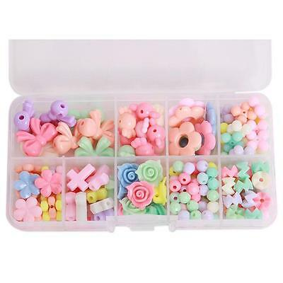 Multicolor Jewelry Beads Kids Educational Training Set Children's DIY Crafts N7