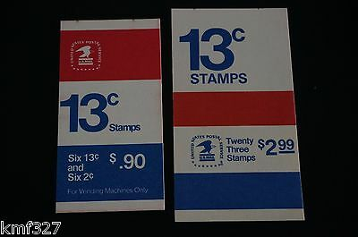 Lot of 2 1595c Liberty Bell 13c Booklet BK128