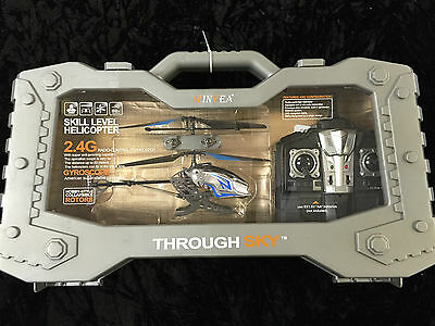 New Winyea Blue Flying Radio-Control Hobby Style 50 Metre Helicopter Carry Case