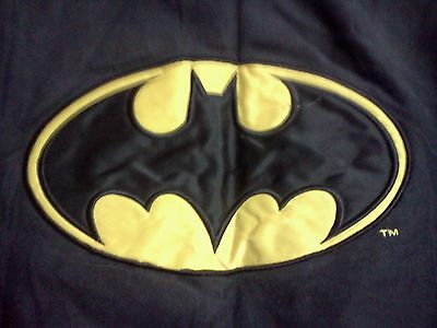BATMAN *Vintage Rare!* 1989 FUN STUFF 100% Cotton XL Jacket Spencer's Exclusive