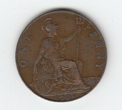 King Edward VII Penny 1902 to 1910 - CHOOSE YOUR DATE!