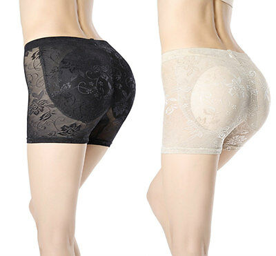 New Padded Bum Pants Underwear Bum Butt Lifter Enhancer Shapewear Slimming Aid