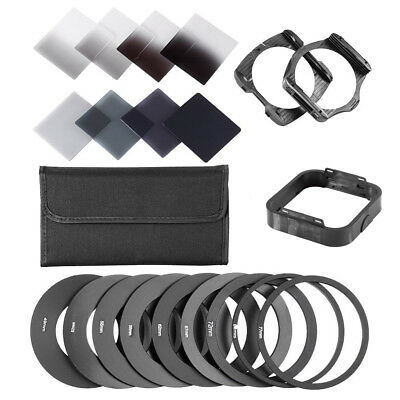 Complete ND 2 4 8 16 Filter Kit for Cokin P +Holder+Wide Adapter+lens Hood NEW