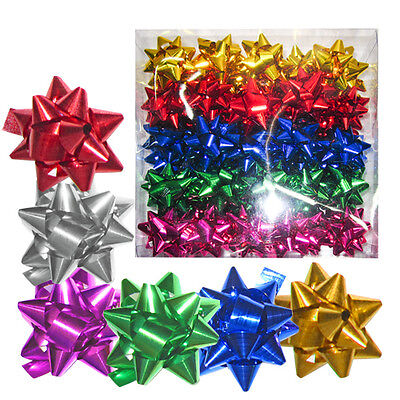 20 or 80pcs pull bows gift wrapping 3cm multi colour christmas birthday wedding