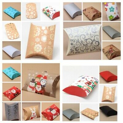 Gift Box Pillow Pack Bag Wedding favours Present Wrapping Gift Wrap Christmas