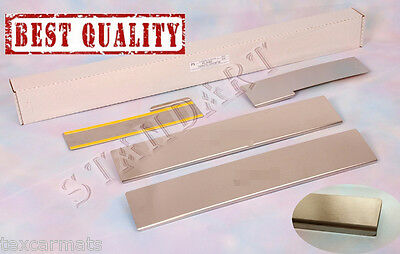 Daihatsu Sirion 2008- Stainless Steel Door Sill Entry Guard Covers Protectors