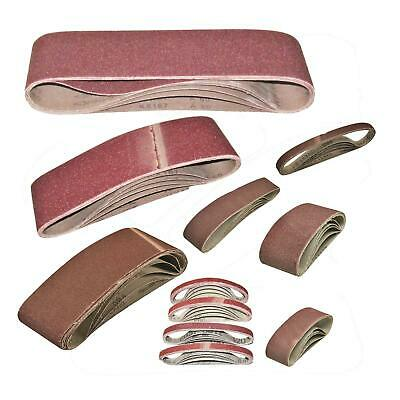 Sanding Belts Large Choice Of Mixed Sizes And Grits For Belt Sanders