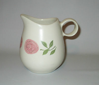 Vernon Ware Rose A Day Creamer Metlox Poppytrail Pink Roses USA Pottery