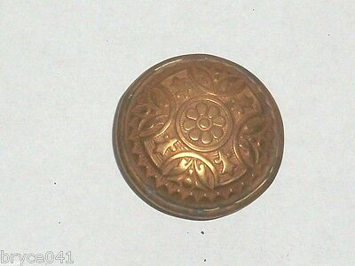 Antique Gothic Design Door Knob Brass with Copper Finish