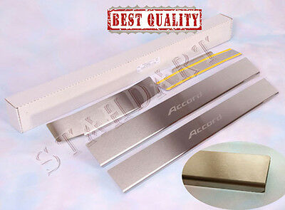 Honda Accord VIII 2008- Stainless Steel Door Sill Entry Guard Covers Protectors