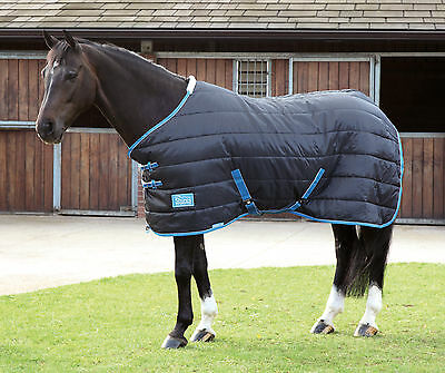 "Bnwt 7'3"" Shires Tempest 100g Stable Rug black 7ft 3 ( 9333 )"