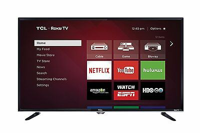 "TCL 32S3800 32"" 720p 60Hz Roku Smart LED HDTV w/ Built-in WiFi & 3 HDMI Inputs"