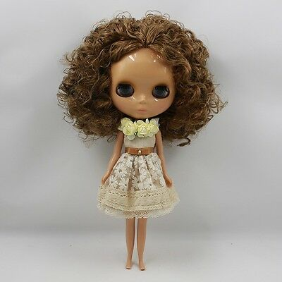 """New Arrival !12/"""" Neo Blythe Doll Tanned Skin Nude Doll from Factory Gift J85008"""