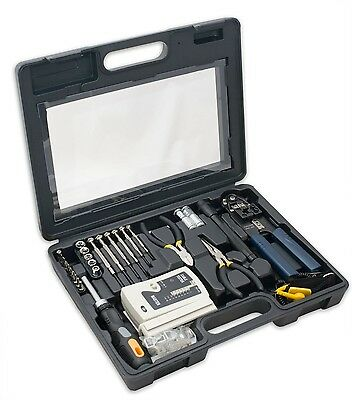 New Syba SY-ACC65047 50-Piece Computer Networking Tool Kit with LAN Cable Test