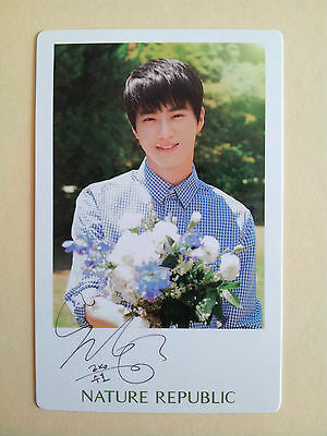 EXO Nature Republic Official 2015 NEW OFFICIAL Photo Card Photocard - Suho
