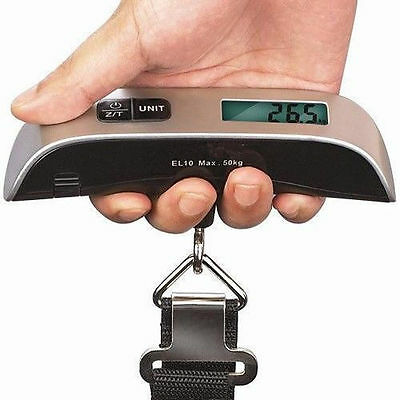 Electronic Luggage Scale With Built-In Backlight  MY