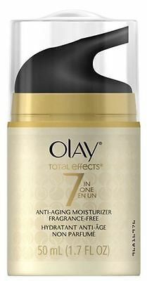 OLAY Total Effects 7-In-1 Anti-Aging Daily Moisturizer Fragrance Free 1.70 oz