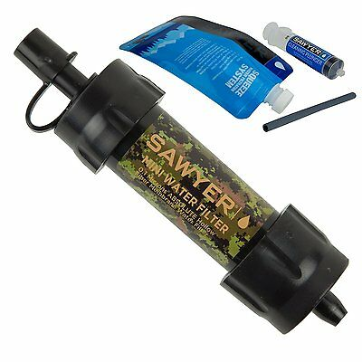 New CAMO Sawyer Mini Water Filter SP107 Sawyer Approved European Retailer
