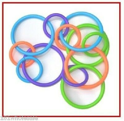 ❤ Playgro First Chewy Baby Activity Rings Loopy Links First Toy Teether Spinning