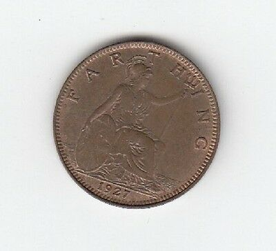 King George V Farthing 1911 to 1936 - CHOOSE YOUR DATE!