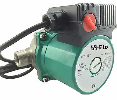 "HSH-Flo 3/4"" 220V Hot Water Circulation Pump SS Circulator Pump For Solar Heater"