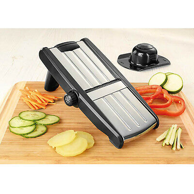 Stainless Steel Kitchen Grater Food Slicer Cutter Veg Peeler Chopper Mandolin