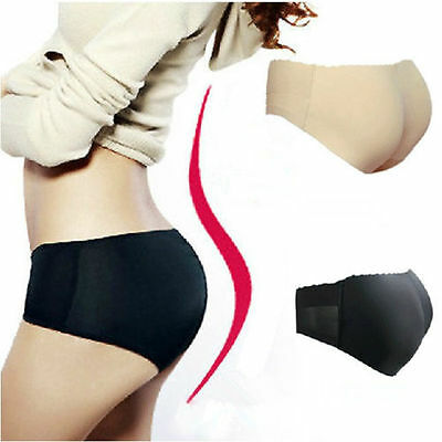 Women Shapewear Buttock Padded Underwear Brief Panties  Bum Butt Lift Enhancer