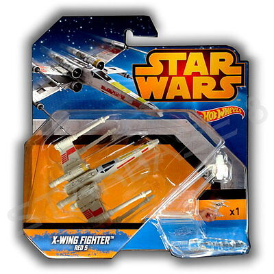 X-Wing Fighter Red 5 - Mattel Hot Wheels - Star Wars Episode Iv - Vi & Rogue One