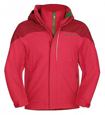 Vaude Kinder-Doppeljacke Little Champion 3in1 Jacket, rosebay