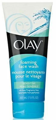 Olay Sensitive Foaming Face Wash 7 oz, 2 Pack Advanced Clinicals Retinol Firming Cream, 16 Oz