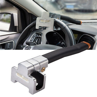 2 Key Anti Theft Steering Wheel Lock Foldable Security Airbag Lock Safe Devices